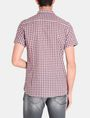 ARMANI EXCHANGE CONTRAST PLACKET SHORT SLEEVE SHIRT Short sleeve shirt Man r