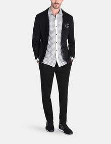 ARMANI EXCHANGE CONTRAST PLACKET SHORT SLEEVE SHIRT Short sleeve shirt Man a