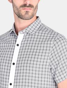 ARMANI EXCHANGE CONTRAST PLACKET SHORT SLEEVE SHIRT Short sleeve shirt Man e