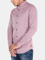 ARMANI EXCHANGE SLIM TAB COLLAR DOBBY STRIPE SHIRT Long sleeve shirt Man d