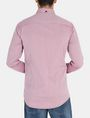 ARMANI EXCHANGE SLIM TAB COLLAR DOBBY STRIPE SHIRT Long sleeve shirt Man r