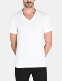 ARMANI EXCHANGE TONAL EMBROIDERY LOGO T-SHIRT Logo T-shirt Man f