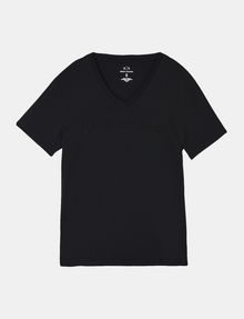 ARMANI EXCHANGE TONAL EMBROIDERY LOGO T-SHIRT Logo T-shirt Man b