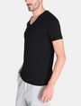 ARMANI EXCHANGE TONAL EMBROIDERY LOGO T-SHIRT Logo T-shirt Man d
