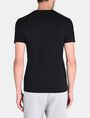 ARMANI EXCHANGE TONAL EMBROIDERY LOGO T-SHIRT Logo T-shirt Man r