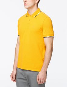 ARMANI EXCHANGE TIP COLLAR PIQUE POLO SHORT SLEEVES POLO Man d