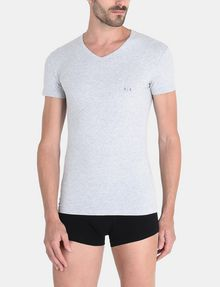 ARMANI EXCHANGE 2 PACK LOGO V-NECK T-SHIRT Undershirt Man r