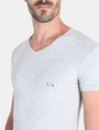 ARMANI EXCHANGE 2 PACK LOGO V-NECK T-SHIRT Undershirt Man e