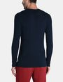 ARMANI EXCHANGE GEOMETRIC TEXTURED KNIT V-NECK SWEATER Pullover Man r
