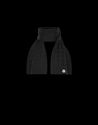 SCARF Black Junior 8-10 Years - Boy Man