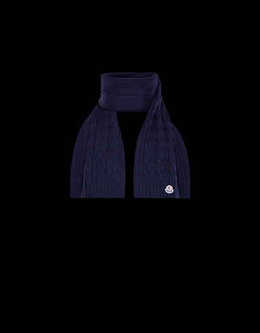 SCARF Dark blue New in Man