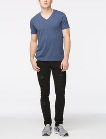 ARMANI EXCHANGE PIMA V-NECK T-SHIRT Pima Tee Man a