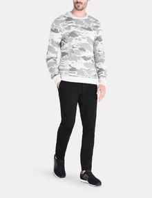 ARMANI EXCHANGE CAMO JACQUARD CREWNECK SWEATER Pullover Man a