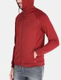 ARMANI EXCHANGE NEOPRENE TONAL LOGO HOODIE Fleece Jacket Man d