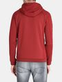 ARMANI EXCHANGE NEOPRENE TONAL LOGO HOODIE Fleece Jacket Man r