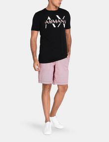 ARMANI EXCHANGE PRINT CHINO SHORTS Chino Short Man a