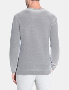 ARMANI EXCHANGE FEEDER STRIPE OPTICAL CREWNECK SWEATER Pullover Man r