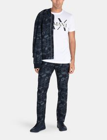 ARMANI EXCHANGE CAMO JACQUARD STRAIGHT FIT JEANS STRAIGHT FIT JEANS Man a