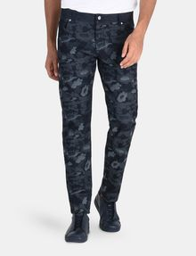 ARMANI EXCHANGE CAMO JACQUARD STRAIGHT FIT JEANS STRAIGHT FIT JEANS Man f