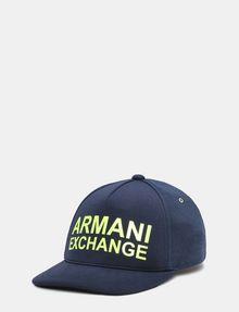 ARMANI EXCHANGE NEON MODERN BLOCK HAT Hat Man f