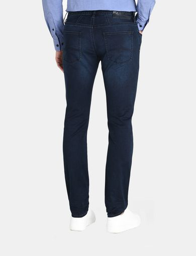 DARK INDIGO SLIM POWER STRETCH JEANS