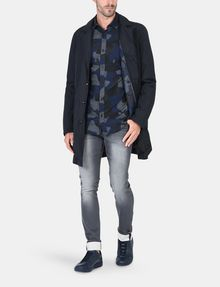 ARMANI EXCHANGE SKINNY WHISKERED FLEECE JEANS Skinny jeans Man a
