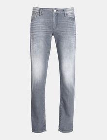 ARMANI EXCHANGE SKINNY WHISKERED FLEECE JEANS Skinny jeans Man b