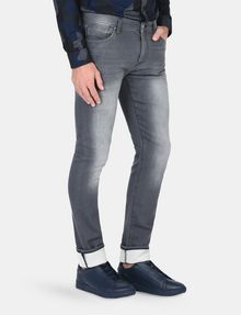ARMANI EXCHANGE SKINNY WHISKERED FLEECE JEANS Skinny jeans Man d