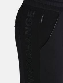 ARMANI EXCHANGE TONAL LOGO NEOPRENE SWEATPANTS Fleece Pant [*** pickupInStoreShippingNotGuaranteed_info ***] e