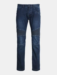 ARMANI EXCHANGE BIKER PATCH POWER STRETCH SLIM JEANS Slim fit JEANS Man b