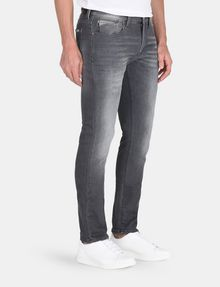 ARMANI EXCHANGE WHISKER DETAIL SLIM FIT GREY JEANS Slim fit JEANS Man d
