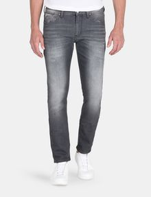 ARMANI EXCHANGE WHISKER DETAIL SLIM FIT GREY JEANS Slim fit JEANS Man f