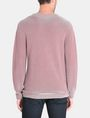 ARMANI EXCHANGE FEEDER STRIPE OPTICAL CREWNECK SWEATER Pullover Herren r