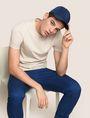 ARMANI EXCHANGE Camiseta de algodón Pima Hombre a