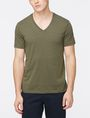 ARMANI EXCHANGE PIMA V-NECK T-SHIRT Pima Tee Man f
