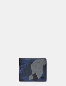 ARMANI EXCHANGE GEO CAMO BILLFOLD WALLET Small leather good U f