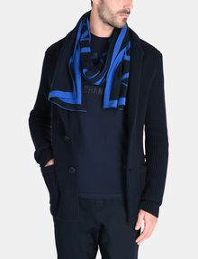 ARMANI EXCHANGE REFRACTED LOGO CREWNECK Scarf [*** pickupInStoreShippingNotGuaranteed_info ***] r