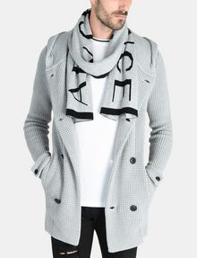 ARMANI EXCHANGE CASHMERE BLEND LOGO SCARF Scarf [*** pickupInStoreShippingNotGuaranteed_info ***] r