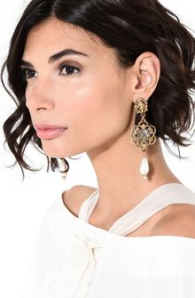 ALBERTA FERRETTI Lion head pendant earrings Earrings Woman r