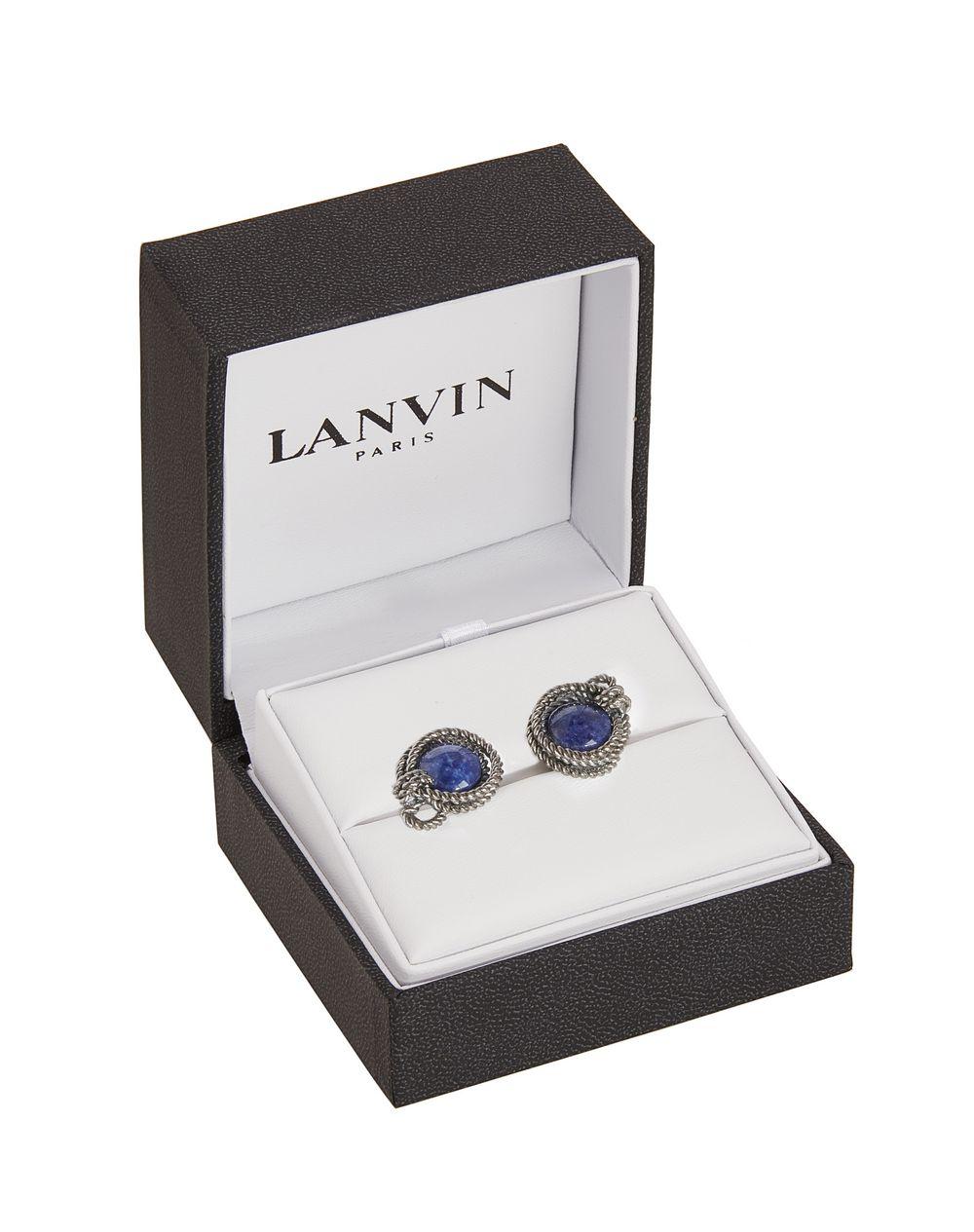 Ruthenium-plated metal cuff links - Lanvin