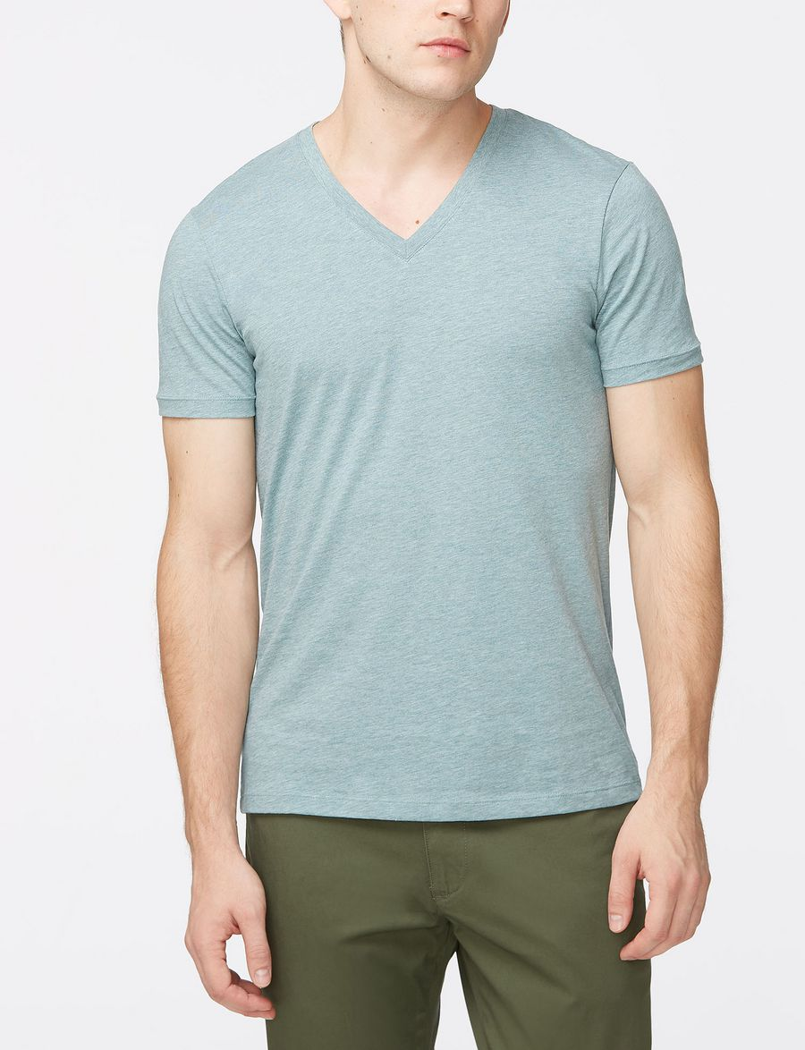 Armani Exchange Mens T Shirts Polos A X Store Tendencies Tshirt Great Again Hitam M Mint Green