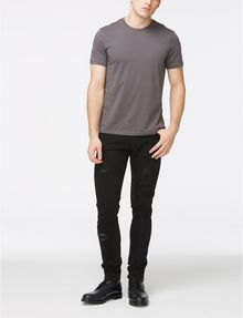 ARMANI EXCHANGE SKINNY-FIT SHREDDED JEAN Skinny jeans Man a