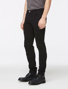 ARMANI EXCHANGE SKINNY-FIT SHREDDED JEAN Skinny jeans Man d
