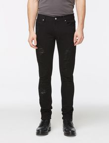 ARMANI EXCHANGE SKINNY-FIT SHREDDED JEAN Skinny jeans Man f