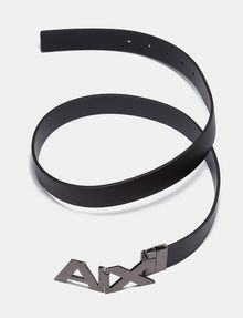 ARMANI EXCHANGE REVERSIBLE BOLD LOGO SKINNY BELT Belt Man e