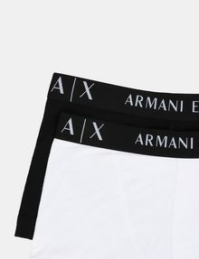 ARMANI EXCHANGE 2 PACK LOGO TRUNK Boxer Man e