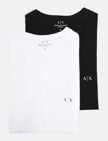 ARMANI EXCHANGE 2 PACK LOGO CREWNECK T-SHIRT Unterhemd Herren f
