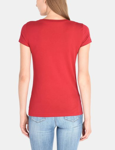 CLASSIC AX SCOOP NECK TEE
