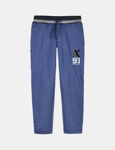 BOYS RANSOM FONT FLEECE PANTS