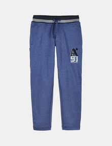 ARMANI EXCHANGE BOYS RANSOM FONT FLEECE PANTS Fleece Pant Man f